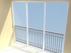Zasklívání balkonů brno
