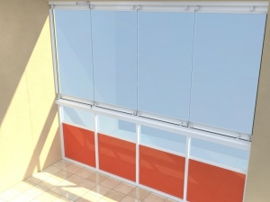 Zasklívání balkonů cena